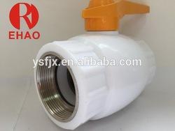 Cheapest hot-sale plastic ppr brass long stem ball valve