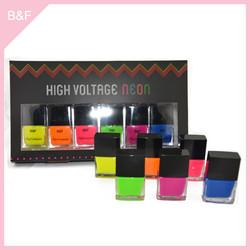High Quality Private Label Nail Polish acrylic cosmetic make up nail varnish pencils brushes display