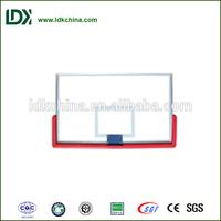 Organic glass basketball backboard size