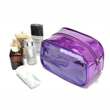 2015 luxurious modella shiny pu material hot selling promotional make up bag