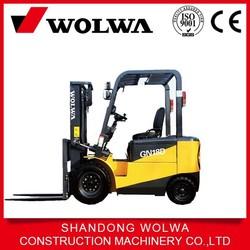 1 ton 1.5 ton,2 ton,3 ton electric forklift with forklift battery