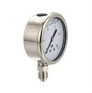 All stainless steel hot sale silicone oil filled pressure gauge manufacturer