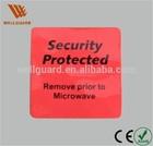 EAS RF security Frozen food sticker label EAS frozen labels