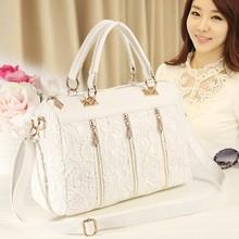 2015 Women Fashion Vintage Lace Totes Hand bag Manufacturer SV001933
