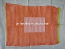 (50x80 dark orange, red) 40kg raschel bag for Algeria market