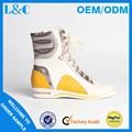 L&c h1169-k1090 pizzo- su scarpe casual di colore chiaro scarpe di tela casual