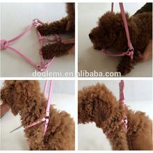 Adjustable Dog Harness Soft Rhinestones Dog Harness Puppy Walking Harness&Leashes Set