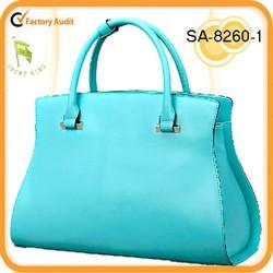 Hot! 2015 luxury genuine leather tote handbag/shoulder bag online shopping