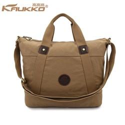 Elegant Canvas Handbag Lady Shoulder Bag Canvas Tote Bag Handbag Travel Bag Canvas Bag Tablet Messenger Bag