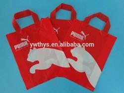 shopping plastic bag/printed shoes packing plastic bag