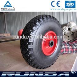 solid type polyurethane material PU wheel