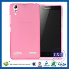C&T Clear Bumper TPU Soft Case Rubber Silicone Skin Cover for lenovo a6000