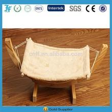 wood pet hammock bed