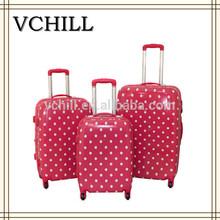 Fashion Girls Cute Polka Dot Luggage