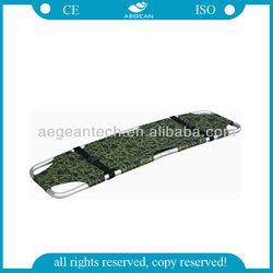 AG-2F Ambulance folding type easy carrying leg stretcher