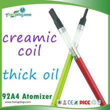 Transpring newest ceramic and glass CBD oil health vaporizer smoking