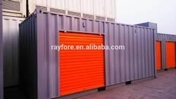 roller door storage shipping container