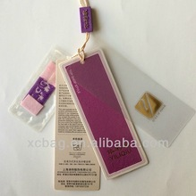 Brand new china supplier canvas hang tags