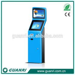 New arrival Guanri k06 17/19 inch TFT LCD Internet self service card vending information kiosk terminal