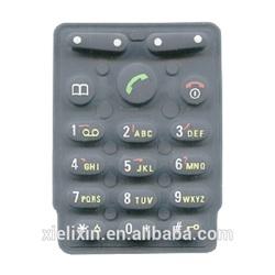 Silicone rubber button keypad for remote control,calculator or computer