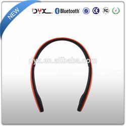 Slim Lightweight wireless bluetooth headphone with call function