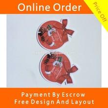 Brand Company Logo Advertising Gift Hanging Paper Car Air Freshener