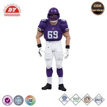 hot products custom football player action figure