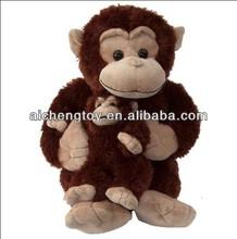 customize talking monkey plush toy