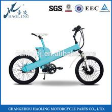 Seagull 20'' import green morden japanese electric bike