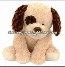 customize lovely animal sound plush dog toy