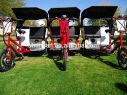 61CH new wider body pedal/ 250W/500W electric pedicab/pedicab rickshaw/rickshaw/tricycle/trike MP3&speaker CE