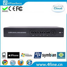 2015 New item 16ch h 264 dvr cms free software Support P2P CMS IE Monitor