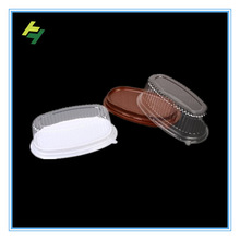 Disposable cookies plastic container