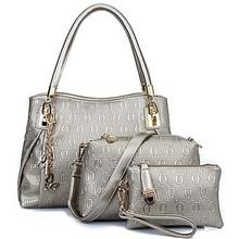 Handbag brands 2015 women handbags manufacturer lady bags 3pcs in 1 set SY6047