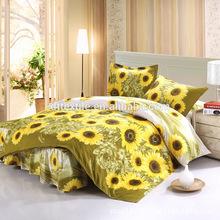 sun flowers bedding set
