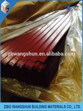 Hot dip galvanized coils/galvanized corrugated steel lightweight roofing materials