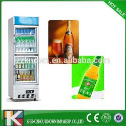 single door mini freezer cold beer refrigerated showcase