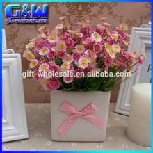 Festive & Party Supplies 24cm Length Artificial Pink Daisy Flower Bush for Wedding Decorative - Cheap Wholesale