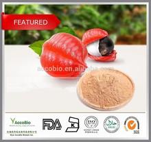100% Natural Guarana extract 10% 20%,Pure Guarana seed extract powder, Paullinia cupana P.E.