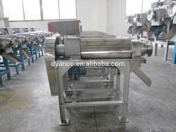 Best performance double screw 1T/H coconut milk making machine