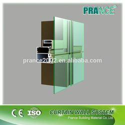 Exterior interior diamond glass curtain wall