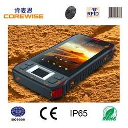 Corewise CFON640 Quad-Core rugged phone with Barcode Scanner/Fingerprint Sensor/NFC Reader-Factory