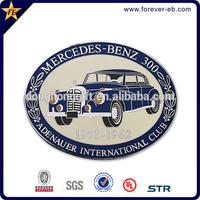 Customized hot sale car logo metal emblem