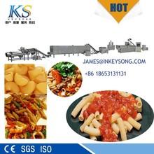 Factory price industrial pasta making machine, macaroni maker, spaghetti production line