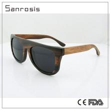 Nature polarized sports bamboo sunglasses