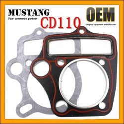 Cylinder Gasket for Motorcycles C110/CD110/110CC Engines Cylinder Replacement Kits