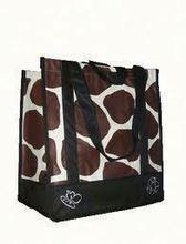 Top quality yellow non woven shopping bag