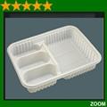 pvc pet caja de plástico transparente contenedores envasadodealimentos