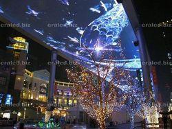 Energy saving 3D LED display solar powered led display full color HD LED display
