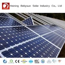 2015 monocrystalline 300 watt solar panel, solar PV module for projects